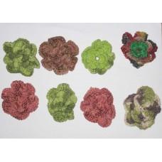 Woolen Flowers 6 cm-500pcs