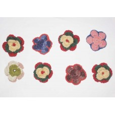 Woolen Flowers 4cm -500pcs