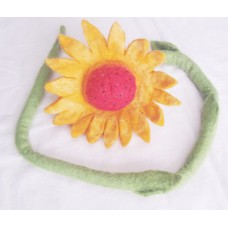 Felt handmade Sunflower