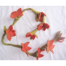 Felt Long Flowers-a