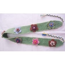 Felt Flower Belt