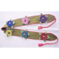 Felt Flower Belt-a