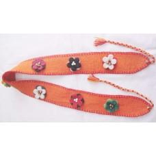 Felt Flower Belt-c