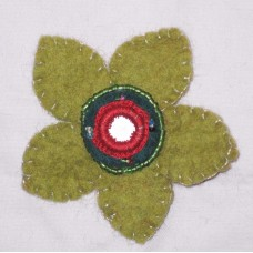 1 Flower Felt Hairband