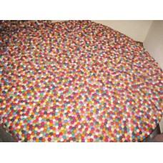 150cm Diameter Felt balls mat