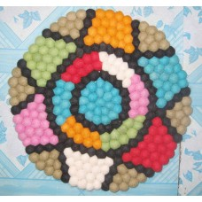 Felt Balls 40cm diameter balls mat