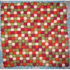 Felt 45X45cm balls mat