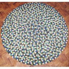 Felt balls mat-100cm diameter