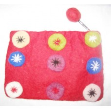 9 Circcle Felti Coin Purse