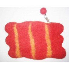 Felt Coin Purse in Lining