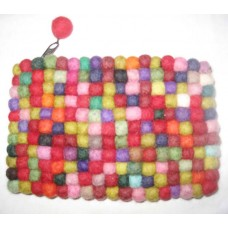 Felting Balls Purse
