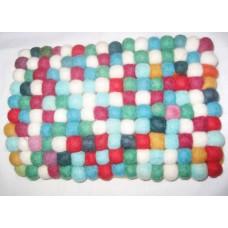 2cm felt balls purse