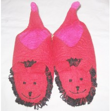 Animal Design wool felting Shoes