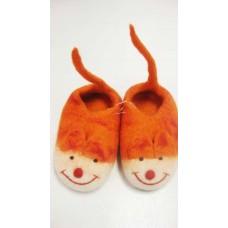 Animal Tail Wool Felt Shoes