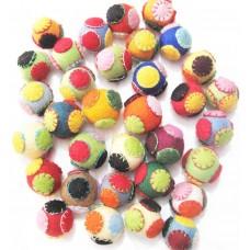 Felt Circle with Circle balls-500pcs
