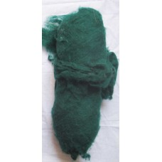 Strong Turquoise Felt Wool Roving