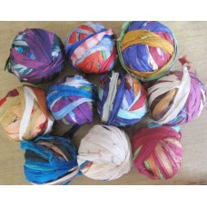 Sari Silk Ribbon In Balls