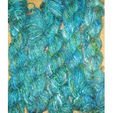 Higher best 2/3 tone Recycled silk yarn-g