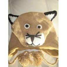 Woolen Animal Design hat-f