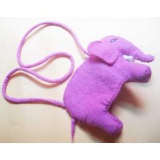 Elephant Felt Bag