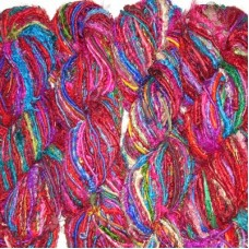 Uncarded Recycled Silk Yarn