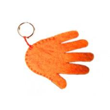 Felt Hand Deign Key Chain