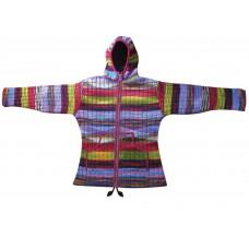 Woolen Tiedye Inside Fleece Jacket