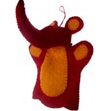 Elephant Design Felt Puppet