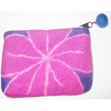Felt Beth Flower Purse