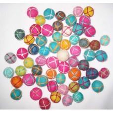 Felt Hand Knitted Balls
