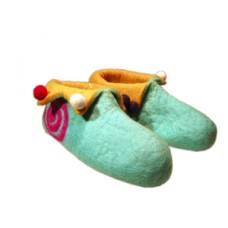 Spiral Cutting Felt shoes