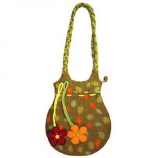 Felt Dori Spot Flower Bag