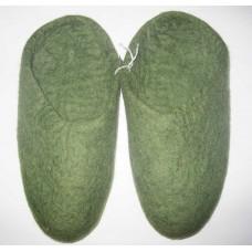 Felt Plain Slippers