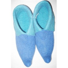 Felt 2 Color Tunnel Shoes-A