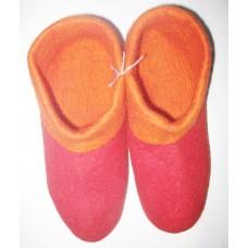 Felt Folding 2 Color Shoes