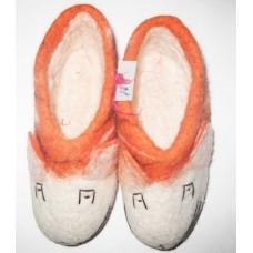 Felt Half Tiger Shoes-A