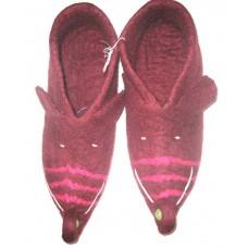 Felt Insided Funky Shoes