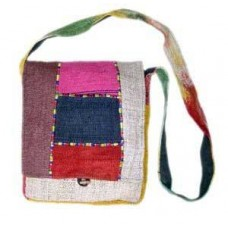 Patch Folding Hemp Bag