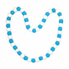Felt Two Color Necklace
